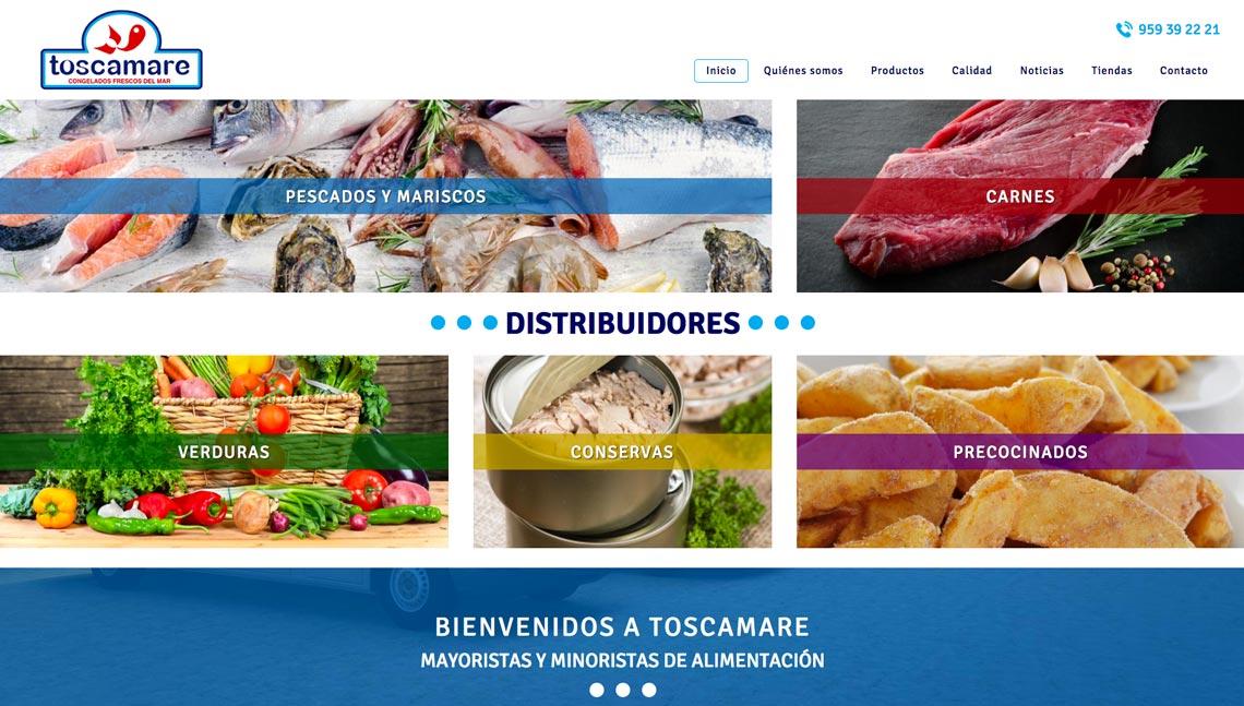 ¡Bienvenidos a nuestra nueva web! - Toscamare, congelados frescos del mar